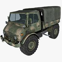 Unimog Army Truck