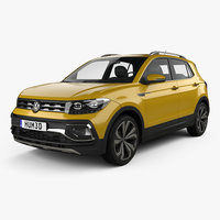 3D volkswagen t-cross t