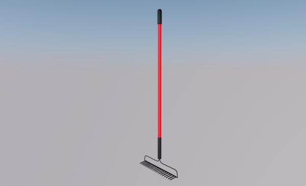 rake tool 3D