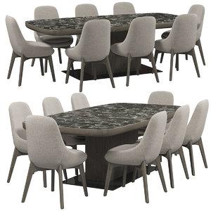 3D ditre italia linear chair