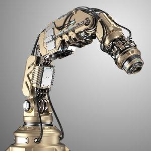 3D robotic arm 2b rigged