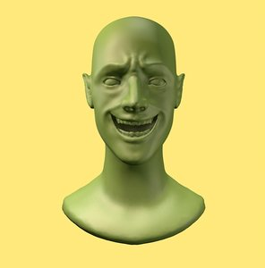 bust elf 3D model