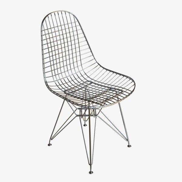 3D model outdoor chair