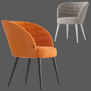 montbel rose chair 3D