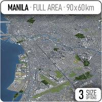 3D manila surrounding -