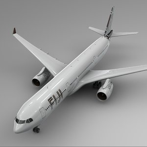 airbus a330-300 fiji airways 3D model