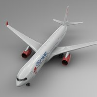 airbus a330-300 czech airlines model