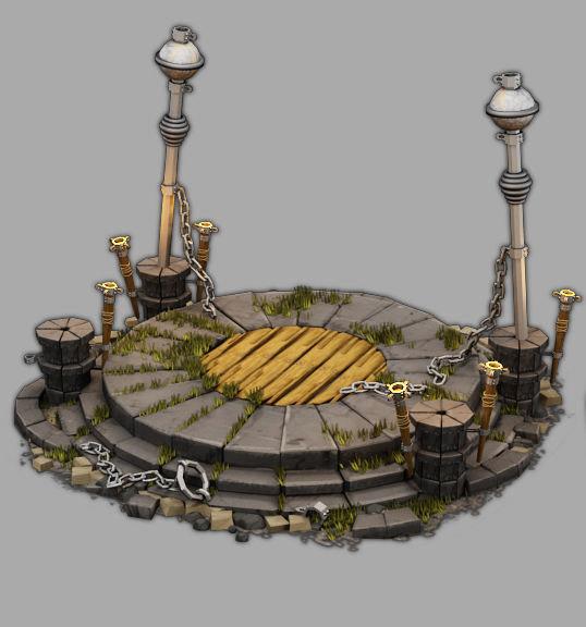altar architecture model