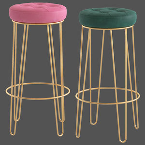 3D model cult furniture delta hairpin