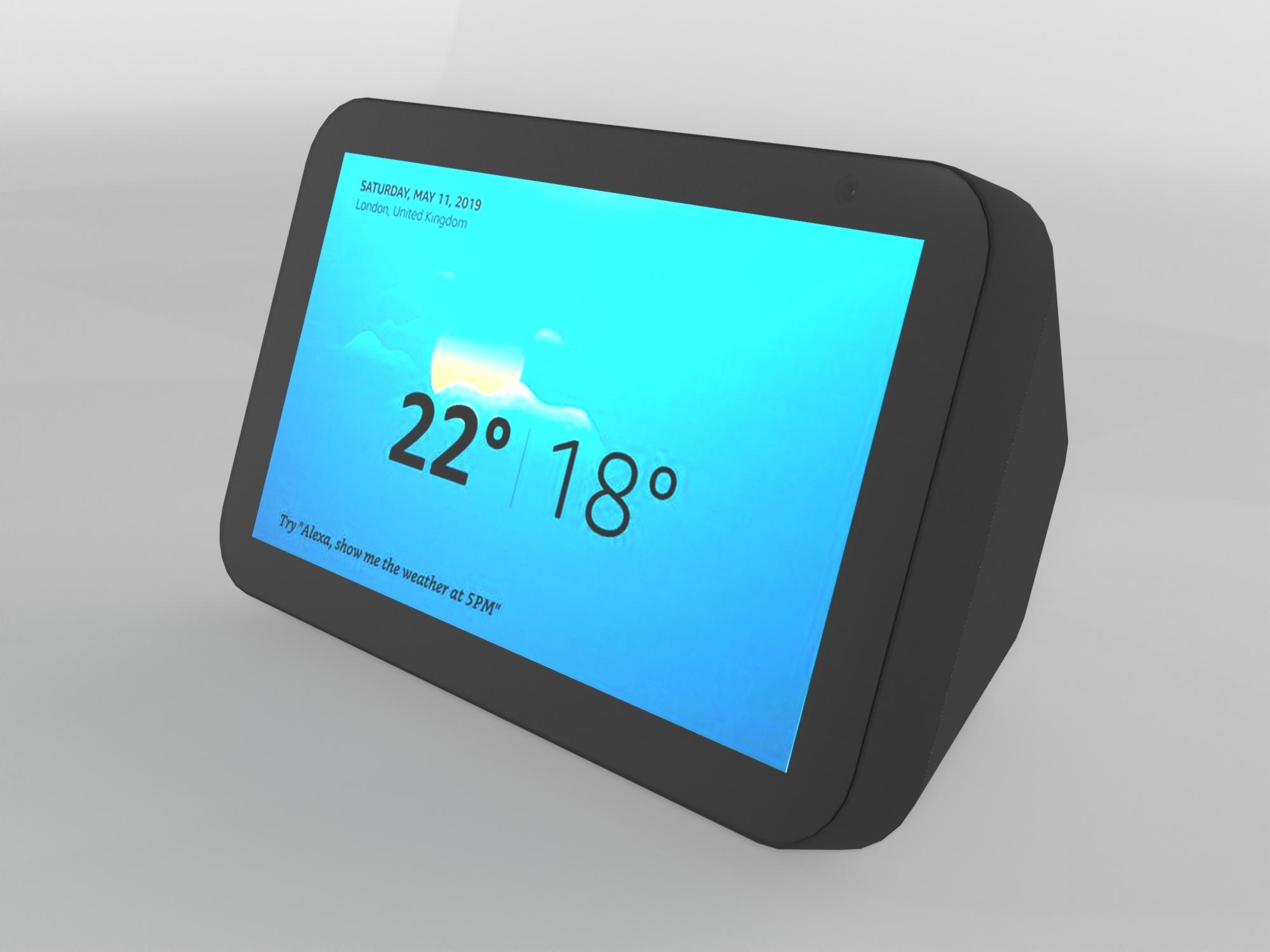 Amazon Echo 5 3d Model Turbosquid 1463183