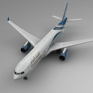3D airbus a330-300 oman air