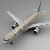 Airbus a330-300 SAUDIA L370