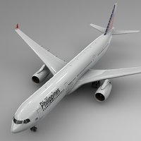 airbus a330-300 philippine airlines model