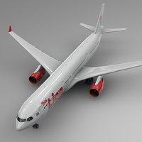 airbus a330-300 lion air 3D model