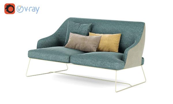 3D blazer sofa bonaldo italia