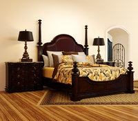 Bedroom Set Double Bed Queen Bed Twin Bed King Bed