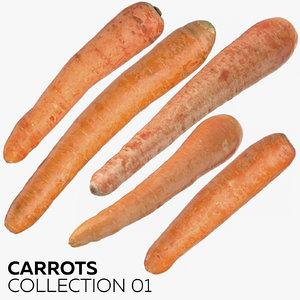 3D carrots 01