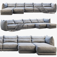 Montauk Jane fabric sofa