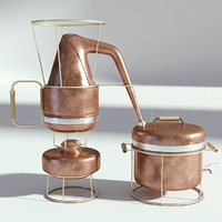 distiller brewery 3D model