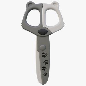 scissors kids 3D