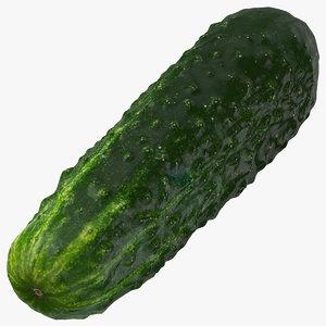 3D kirby cucumber 02
