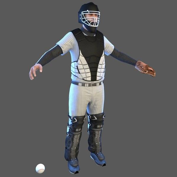 baseball player ball model