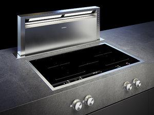 3D gaggenau cooktop 400 vi482111