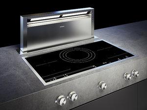 3D gaggenau cooktop 400 vi492111