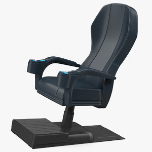 3D model gaming chair furniture