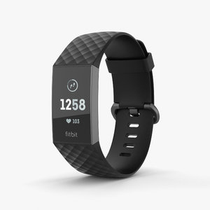 3D fitbit charge 3