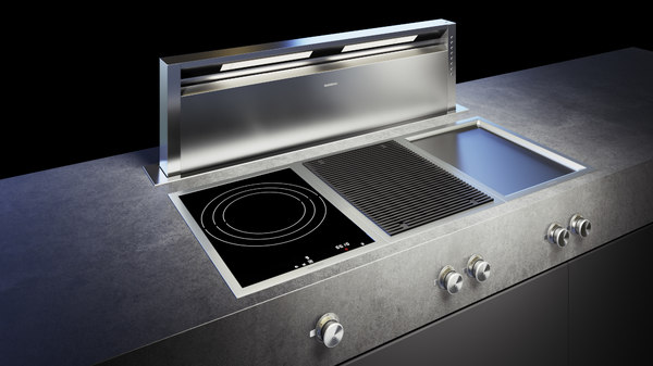 gaggenau 400 grill cooktop 3D model