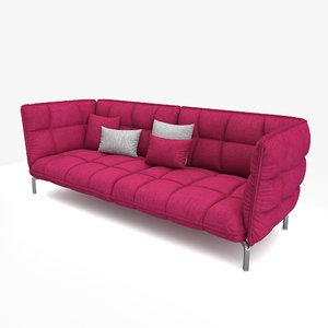 husk sofa 3D model