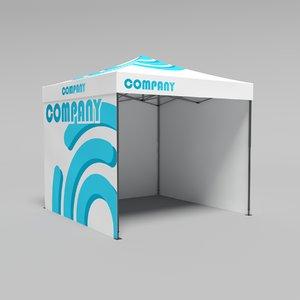3D tent 2 model