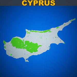 cyprus skyline vol1 3D model