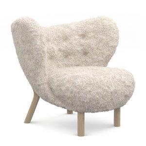 3D chair little petra model