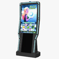 casino slot machine display 3D model