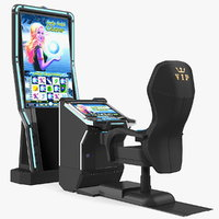 comfortable vip gaming machine 3D model