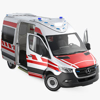 Mercedes Benz Sprinter Paramedic Ambulance Rigged