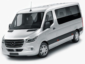 mercedes sprinter tourer 2018 3D model
