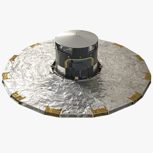 3D gaia space observatory esa model