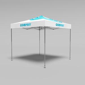 tent 3 3D model