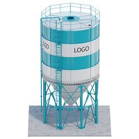 silo grain 3D model