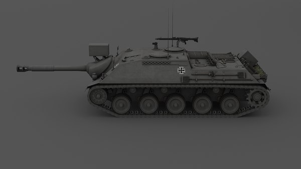 kanonenjagdpanzer tank destroyer model