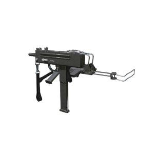 3D submachine gun model