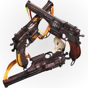 3D pistol mauser