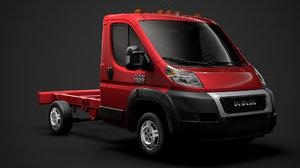 3D ram promaster truck single model