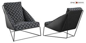 3D alfie bonaldo armchair italia