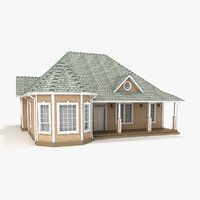 one-story cottage 83 3D