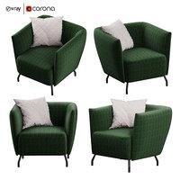 3D arno bonaldo armchair
