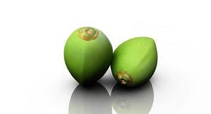 3D coconut
